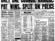 Only One Council Radical; Pot Wins, Split on Police