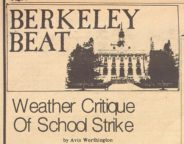 Weather Critique of Teacher Strike