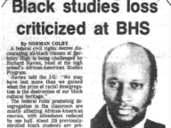 Black Studies Loss Criticized at Berkeley High School