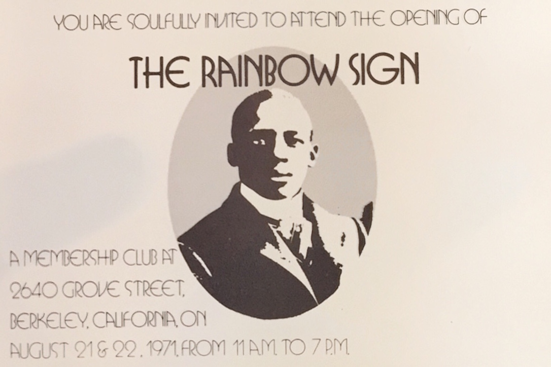 Invitation to the Opening of the Rainbow Sign