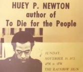 Invitation to Huey P. Newton's Book Party