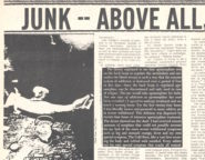 Junk—Above All, a Very Human Problem