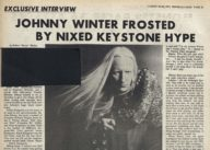 Johnny Winter Frosted by Nixed Keystone Hype
