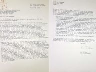 Lou Sullivan Letter to Stanford Clinic