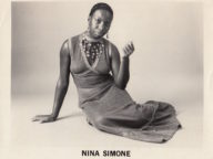 Nina Simone Photographs