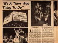 It's a Teen-Age Thing to Do: Rocky Horror at Berkeley