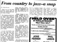 From Country to Jazz—A Snap