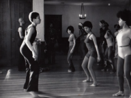 Photographs of Dance Class at Rainbow Sign