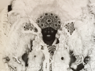 Photograph of Mardi Gras Indian