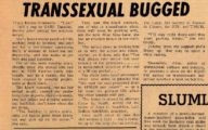 Transsexual Bugged