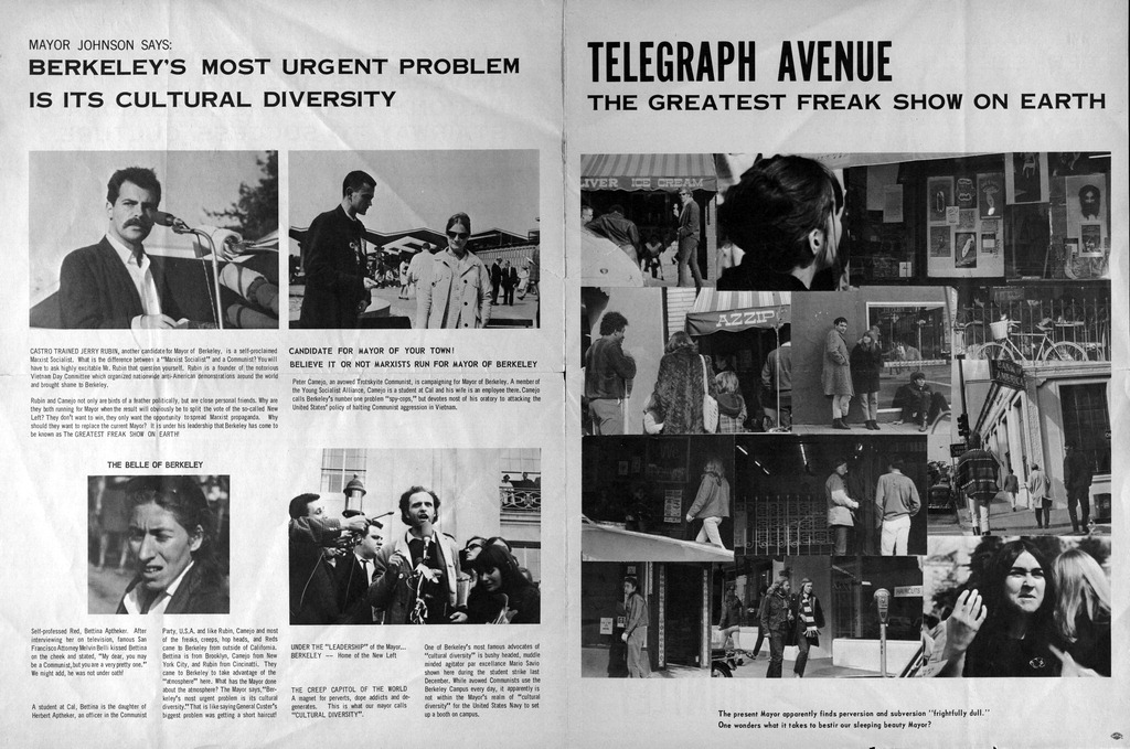 Telegraph Avenue, the Greatest Freak Show on Earth
