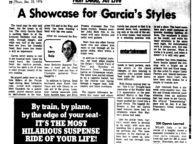 A Showcase for Garcia's Styles