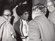 Contact Sheet: Shirley Chisholm on the Campaign Trail