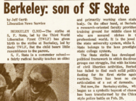 Berkeley, Son of SF State